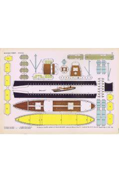 Cubierta de RECORTABLES TORAY GRUPO 15 BARCOS II 61. PETROLERO (Beaumont) Toray 1962