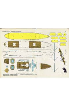 Cubierta de RECORTABLES TORAY GRUPO 15 BARCOS II 63. TRANSATLÁNTICO DÍAZ DE SOLÍS (Beaumont) Toray 1962