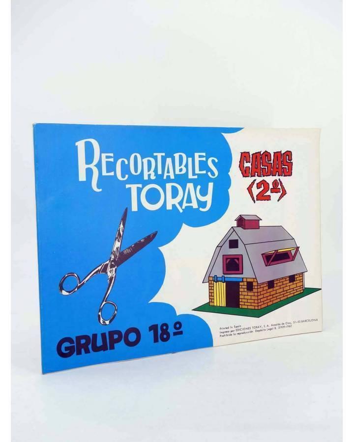 Cubierta de RECORTABLES TORAY GRUPO 18 CASAS II 121 A 128. LIBRO 16 LÁMINAS (Beaumont) Toray 1962
