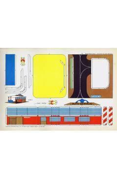 Cubierta de RECORTABLES TORAY GRUPO 18 CASAS II 122. ESTACIÓN DE AUTOSERVICIO (Beaumont) Toray 1962
