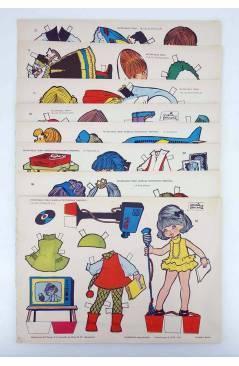 Cubierta de RECORTABLES TORAY G 14 MUÑECAS 105 A 112. LIBRO 16 PAGS (María Pascual) Toray 1962