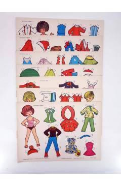 Cubierta de RECORTABLES TORAY MUÑECAS BEBÉS ETC LIBRO 16 PAGS (María Pascual) Toray 1962