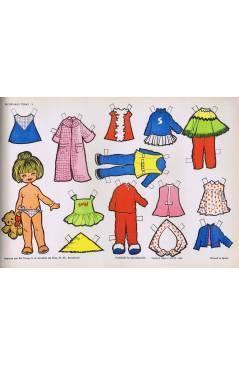 Cubierta de RECORTABLES TORAY GRUPO 14 5. MODELO 5 (María Pascual) Toray 1962