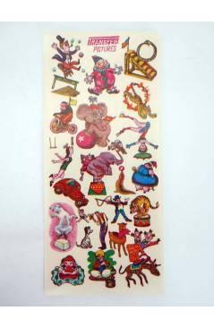 Cubierta de TRANSFER PICTURES CIRCO. CALCOMANÍAS MADE IN JAPAN AÑOS 50 (No Acreditado) No acreditada 1950