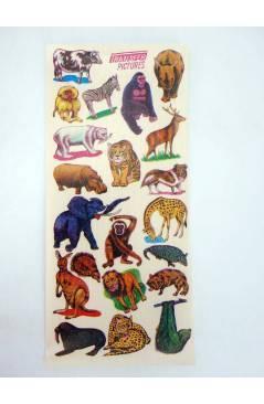 Cubierta de TRANSFER PICTURES ANIMALES. CALCOMANÍAS MADE IN JAPAN AÑOS 50 (No Acreditado) No acreditada 1950