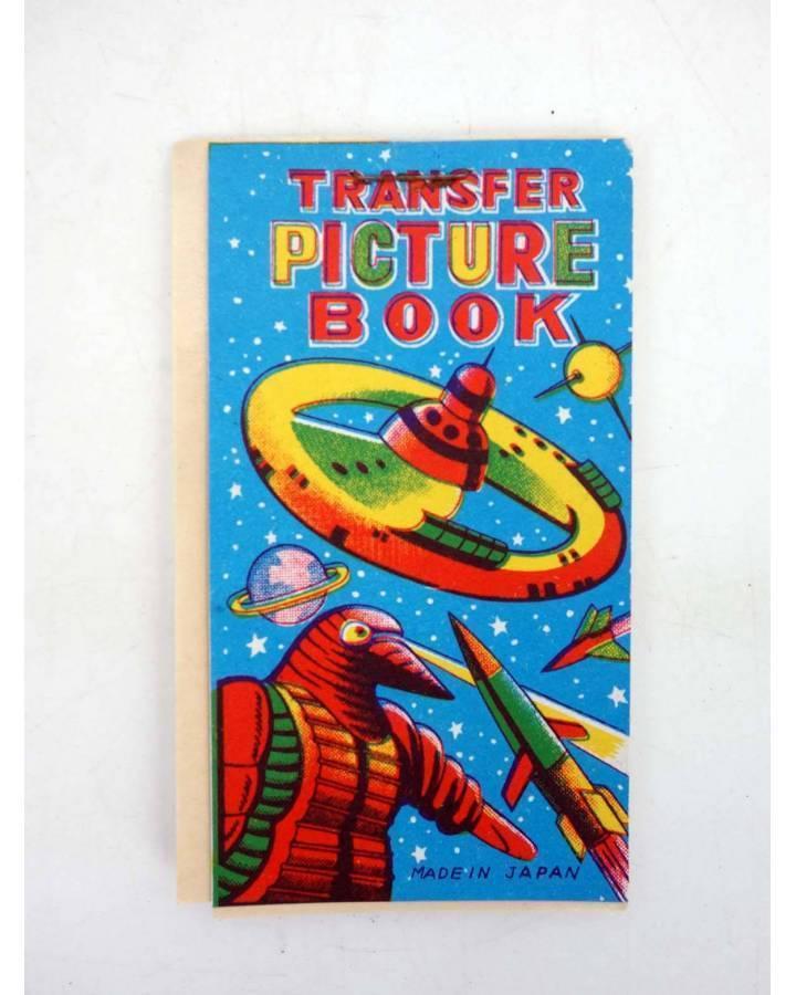 Cubierta de TRANSFER PICTURE BOOK CIENCIA FICCIÓN 5 PÁG CALCOMANÍAS 9X5 CM AÑOS 50 (No Acreditado) No acreditada 1950
