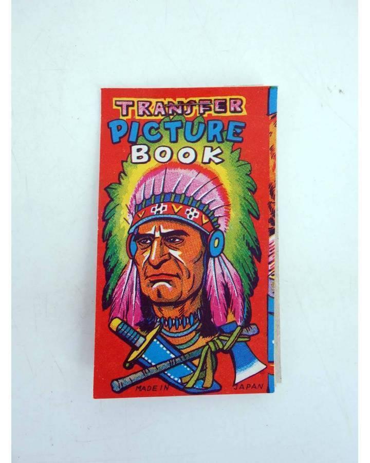 Cubierta de TRANSFER PICTURE BOOK INDIOS Y VAQUEROS. 5 PÁGS. CALCOMANÍAS 9X5CM AÑOS 50 (No Acreditado) No acreditada 195
