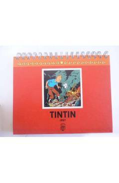 Cubierta de TINTIN AGENDA FRANC-INGL-ALEMÁN-ESPAÑOL. ANILLAS (Hergé) Moulinsart 1997