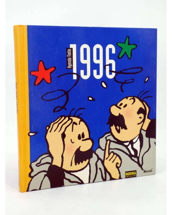 Cubierta de TINTIN AGENDA 1996 HERGÉ. Libro de tapa dura (Hergé) Norma 1996