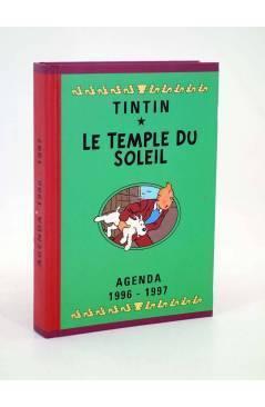Cubierta de AGENDA TINTIN 1996-1997 LE TEMPLE DU SOLEIL. VERDE (Hergé) Norma 1996