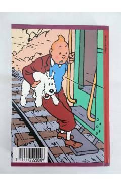 Contracubierta de AGENDA TINTIN 1996-1997 LE TEMPLE DU SOLEIL. VERDE (Hergé) Norma 1996