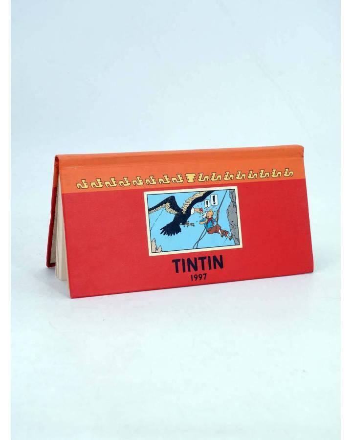 Cubierta de TINTIN AGENDA 1997 APAISADO. FRANC-ALEMAN- ING- ESPAÑOL (Herge) Moulinsart 1997