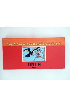 Contracubierta de TINTIN AGENDA 1997 APAISADO. FRANC-ALEMAN- ING- ESPAÑOL (Herge) Moulinsart 1997