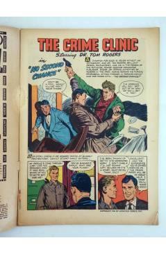 Muestra 2 de CRIME CLINIC 5. VG- (Vvaa) Ziff Davis 1951