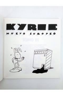 Muestra 1 de KYRIE NUEVO EUROPEO TOMO 3 III (Miguel Ángel Martin Mrtn) La Factoría de Ideas 1996