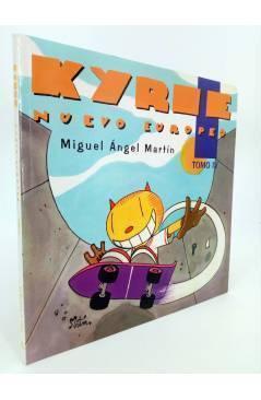 Cubierta de KYRIE NUEVO EUROPEO TOMO 4 IV (Miguel Ángel Martin Mrtn) La Factoría de Ideas 1996