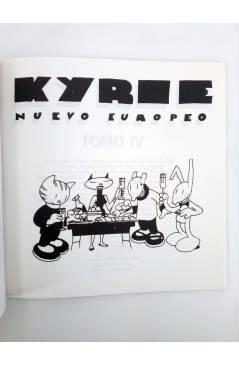 Muestra 1 de KYRIE NUEVO EUROPEO TOMO 4 IV (Miguel Ángel Martin Mrtn) La Factoría de Ideas 1996