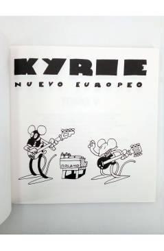 Muestra 1 de KYRIE NUEVO EUROPEO TOMO 5 V (Miguel Ángel Martin Mrtn) La Factoría de Ideas 1996