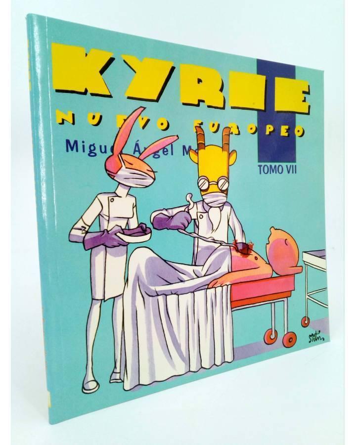 Cubierta de KYRIE NUEVO EUROPEO TOMO 7 VII (Miguel Ángel Martin Mrtn) La Factoría de Ideas 1996