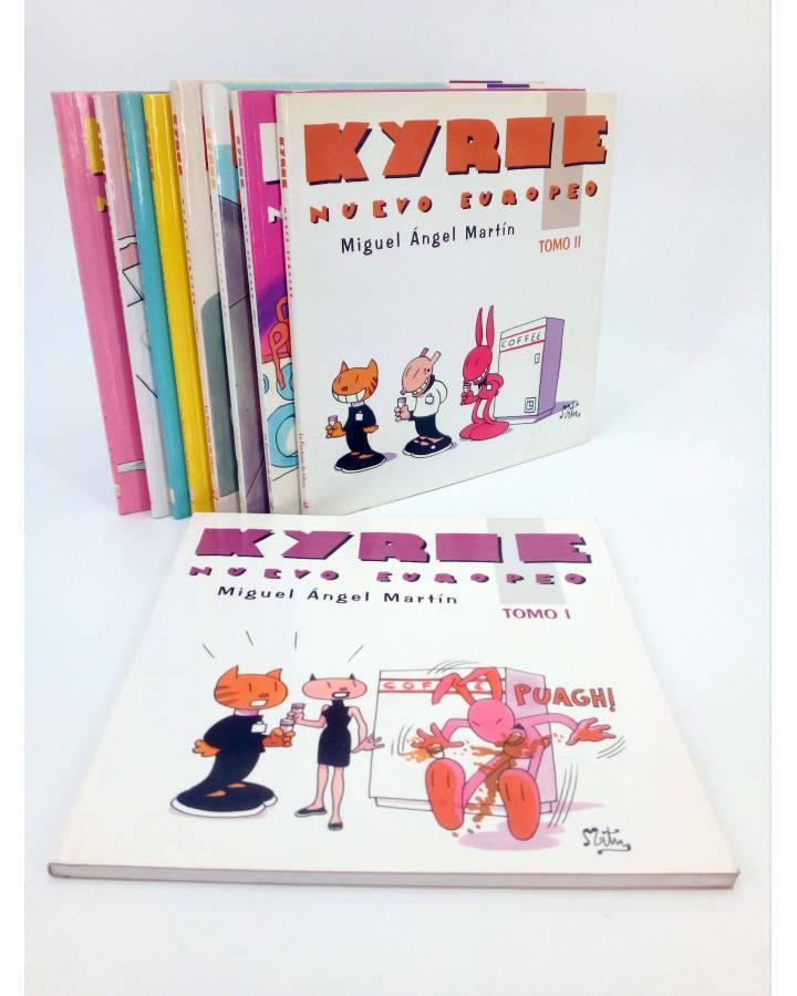 Cubierta de KYRIE NUEVO EUROPEO 1 a 9 - I a IX. COMPLETA (Miguel Ángel Martin Mrtn) La Factoría de Ideas 1996