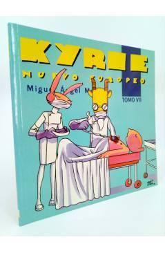 Contracubierta de KYRIE NUEVO EUROPEO 1 a 9 - I a IX. COMPLETA (Miguel Ángel Martin Mrtn) La Factoría de Ideas 1996