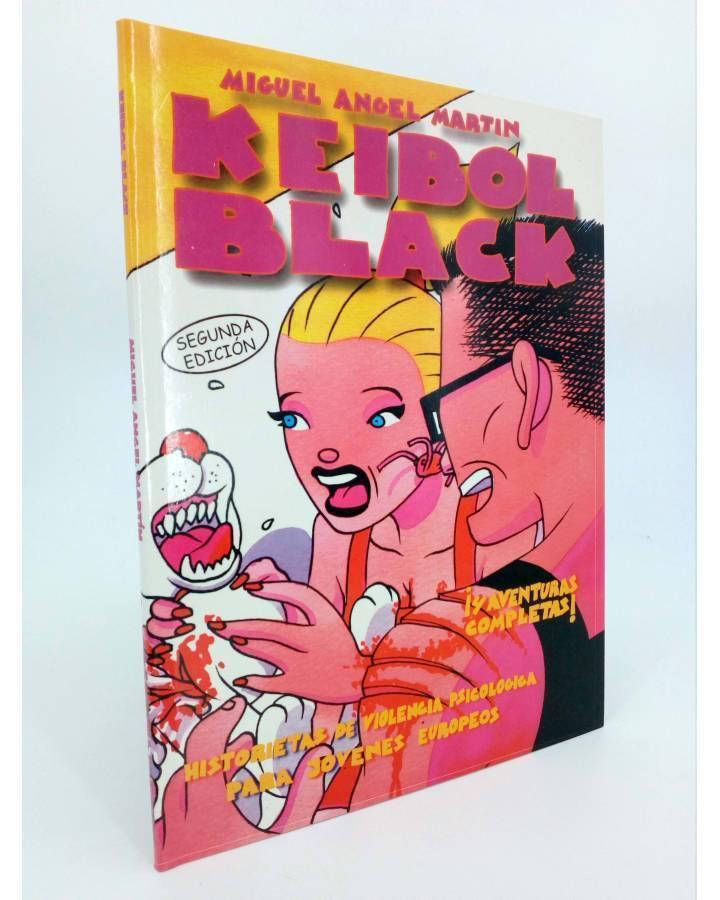 Cubierta de KEIBOL BLACK 1. 2ª EDICION (Miguel Ángel Martin Mrtn) La Factoría de Ideas 1999
