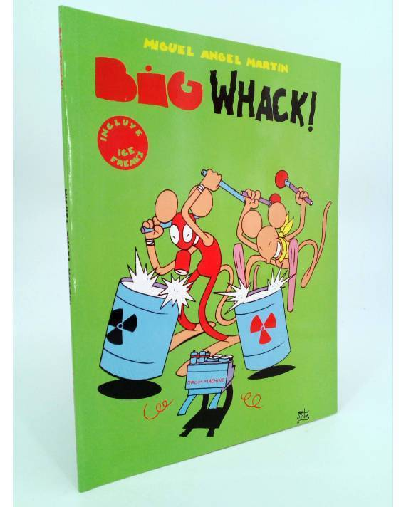 Cubierta de BIG WHACK. INCLUYE ICE FREAKS (Miguel Ángel Martin Mrtn) La Factoría de Ideas 2001