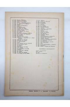 Contracubierta de TEMAS ESPAÑOLES 328. MUSEO Y COLEGIO DEL PATRIARCA (Santiago Robres) Publicaciones Españolas 1957