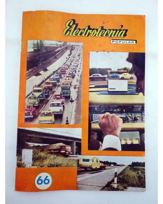 Cubierta de REVISTA ELECTROTECNIA POPULAR 66 (Vvaa) Maymó 1958