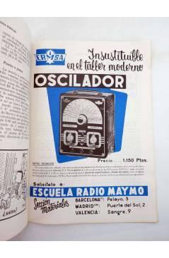 Contracubierta de REVISTA ELECTROTECNIA POPULAR 74 (Vvaa) Maymó 1966