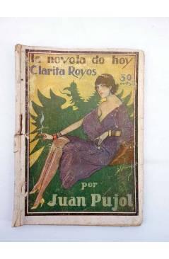 Contracubierta de LA NOVELA DE HOY 349. CLARITA REYES (Juan Pujol / Ramírez) Atlántida 1929