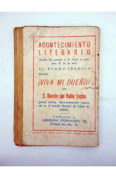 Muestra 2 de LA NOVELA DE HOY 349. CLARITA REYES (Juan Pujol / Ramírez) Atlántida 1929