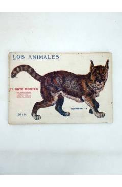 Muestra 4 de LOS ANIMALES 4 5 7 8 9 14. LOTE DE 7. GATO MONTÉS ÁGUILA TIGRE OSO CANGURO… (Vvaa) Prensa Popular 1919