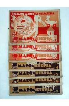 Cubierta de TRABAJOS MANUALES SALVATELLA. MARQUETERÍA CUADERNOS 1 A 7. . COMPLETA (No Acreditado) Miguel A. Salvatella 1