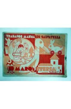 Muestra 3 de TRABAJOS MANUALES SALVATELLA. MARQUETERÍA CUADERNOS 1 A 7. . COMPLETA (No Acreditado) Miguel A. Salvatella
