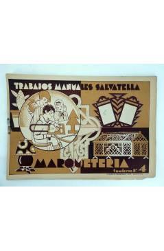 Muestra 5 de TRABAJOS MANUALES SALVATELLA. MARQUETERÍA CUADERNOS 1 A 7. . COMPLETA (No Acreditado) Miguel A. Salvatella
