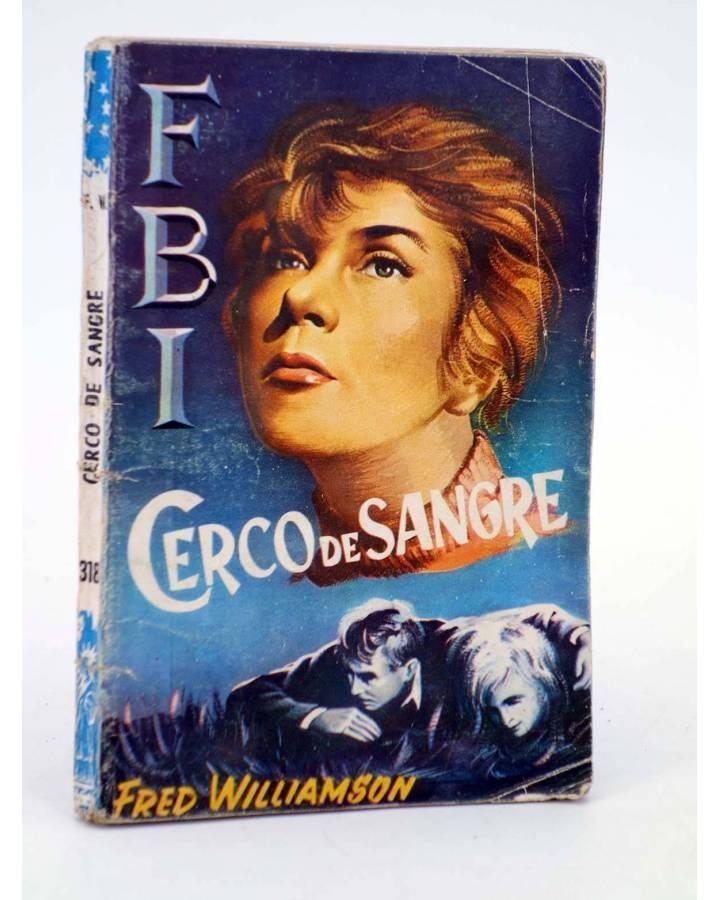 Cubierta de FBI F.B.I 318. CERCO DE SANGRE (Fred Williamson) Rollán 1956