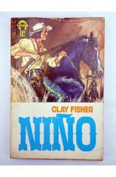 Cubierta de COLECCIÓN CICLÓN 9. NIÑO (Clay Fisher) Toray 1963
