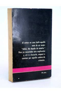 Contracubierta de SERIE POLICIACA 22. PERSECUCIÓN SIN ESPERANZA (J.P. Garen) Toray 1964