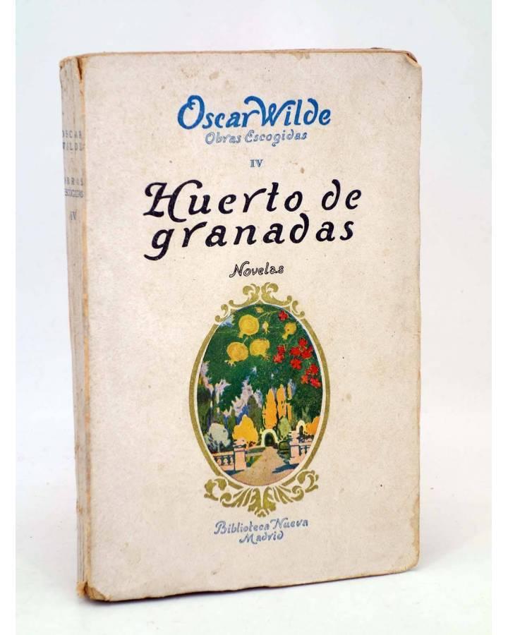 Cubierta de OBRAS ESCOGIDAS IV. HUERTO DE GRANADAS (Oscar Wilde) Biblioteca Nueva 1932