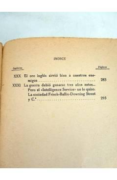 Muestra 6 de LOS SECRETOS DEL ESPIONAJE INGLES (Robert Boucard) Oriente 1930