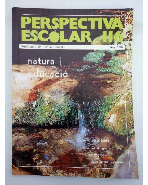 Cubierta de REVISTA PERSPECTIVA ESCOLAR 116. NATURA I EDUCACIÓ (Vvaa) Rosa Sensat 1987