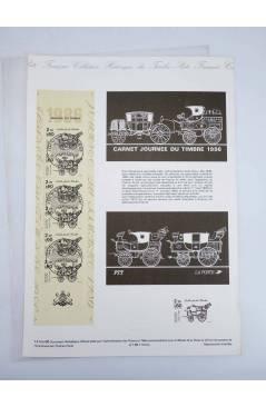 Cubierta de COLLECTION HISTORIQUE DE TIMBRE 14 bis-86. MALLE (No Acreditado) Poste Français 1986