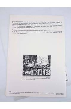 Muestra 2 de COLLECTION HISTORIQUE DE TIMBRE 34-86. CINQUANTENAIRE DE LA CINEMATHEQUE FRANÇAISE 1986 (No Acreditado) 198