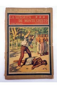 Contracubierta de LA NOVELA ILUSTRADA II ÉPOCA 170 171 172. LA SEÑORITA DE MONTE CRISTO COMPLETA 3 VOLS (Carlos Solo) 19