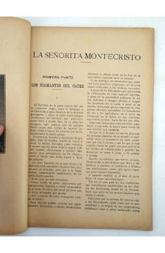 Muestra 2 de LA NOVELA ILUSTRADA II ÉPOCA 170 171 172. LA SEÑORITA DE MONTE CRISTO COMPLETA 3 VOLS (Carlos Solo) 1920