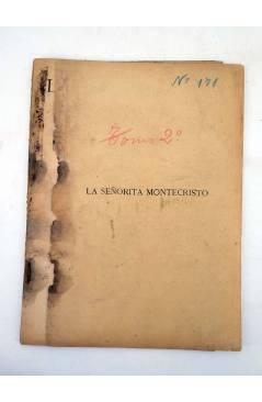 Muestra 5 de LA NOVELA ILUSTRADA II ÉPOCA 170 171 172. LA SEÑORITA DE MONTE CRISTO COMPLETA 3 VOLS (Carlos Solo) 1920