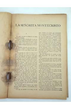 Muestra 7 de LA NOVELA ILUSTRADA II ÉPOCA 170 171 172. LA SEÑORITA DE MONTE CRISTO COMPLETA 3 VOLS (Carlos Solo) 1920
