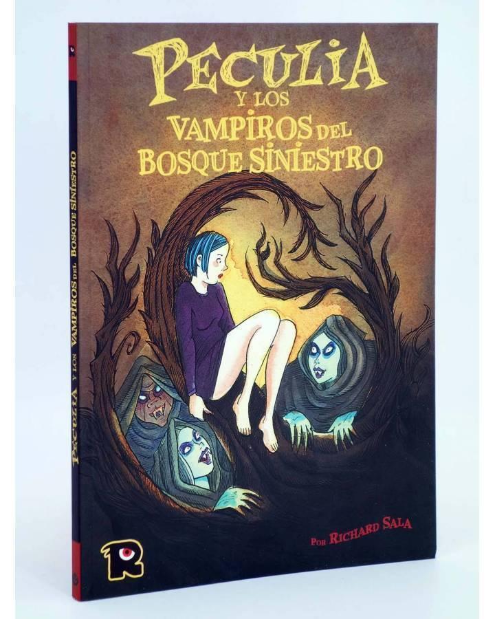 Cubierta de PECULIA Y LOS VAMPIROS DEL BOSQUE SINIESTRO (Richard Sala) Recerca 2004