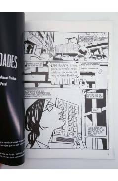Contracubierta de PROBABILIDADES (Olga Carmona Peral / Marcos Prados) Recerca 2004